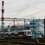SA133-023 jako pociąg Arrivy RP relacji Bydgoszcz Główna- Piła Główna wjeżdża na stację Nakło nad Notecią